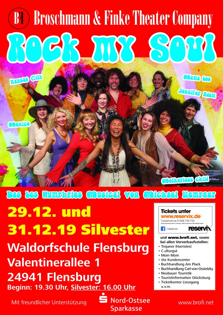 Rock my soul - Plakat